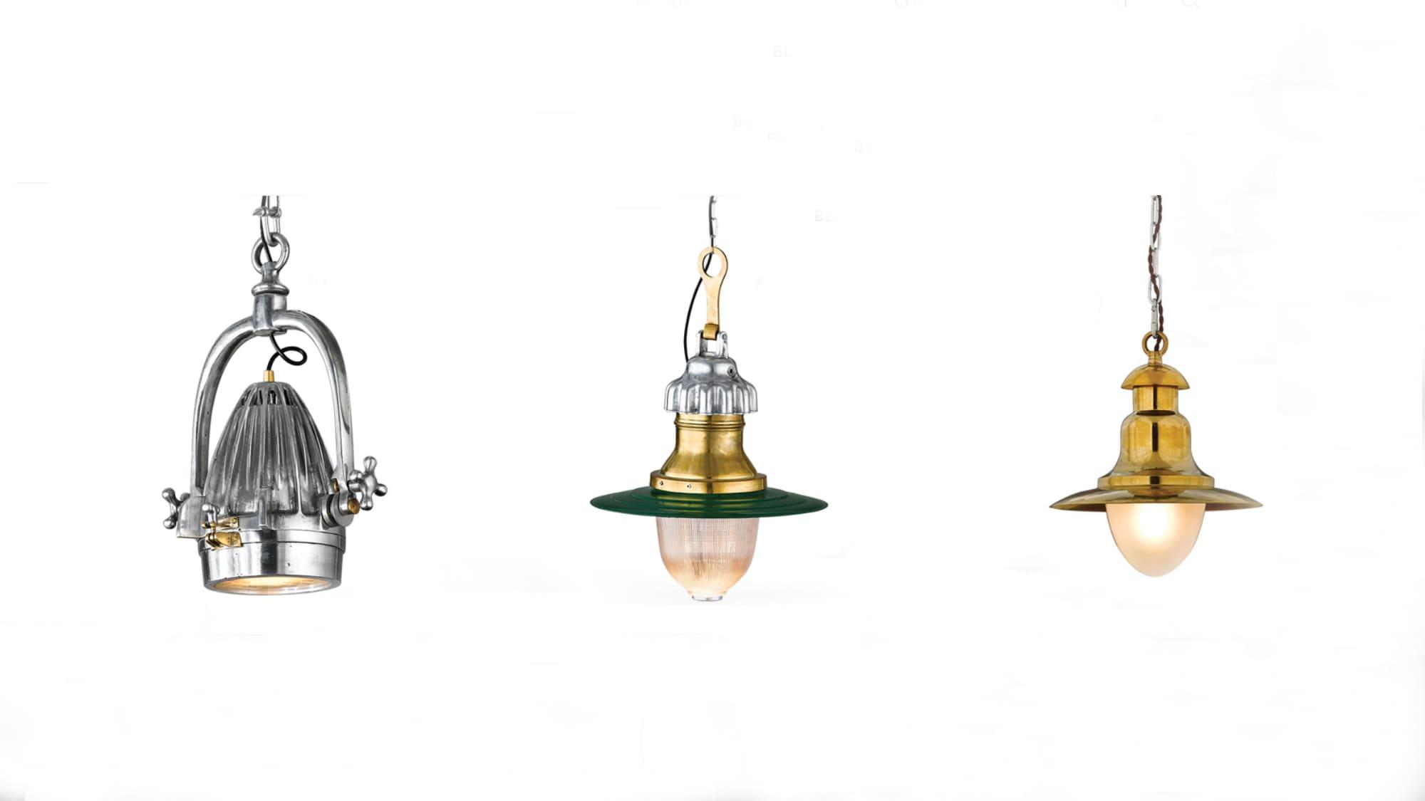 vintage industrial style pendant lights